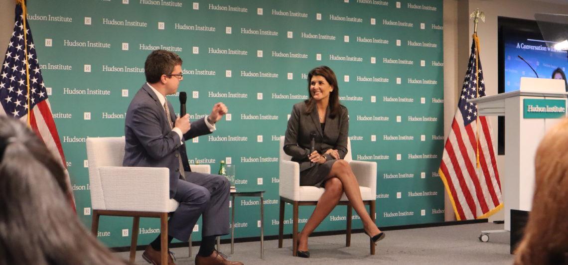 Full Speech: Nikki Haley's speech on capitalism at the Hudson Institute