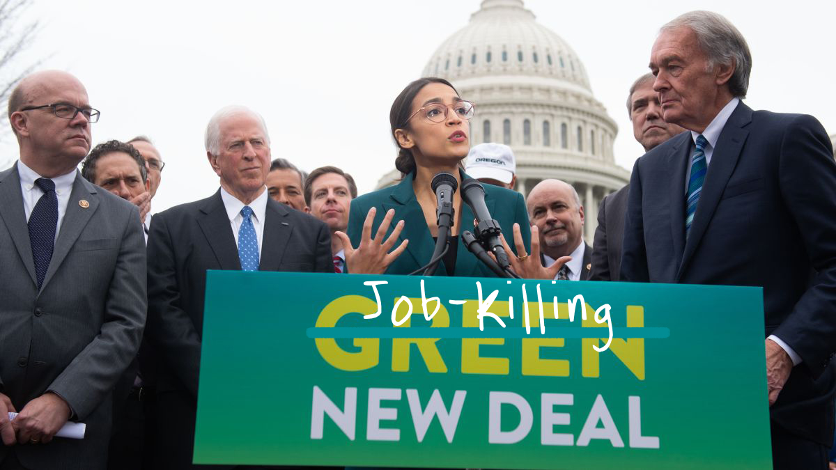 AOC's Green New Deal Delusion 🌿