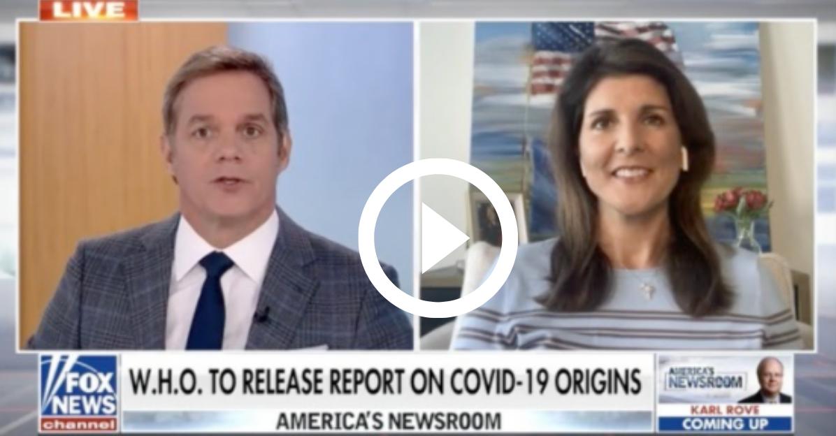 Nikki Haley On Fox News: Hold China Accountable 😠