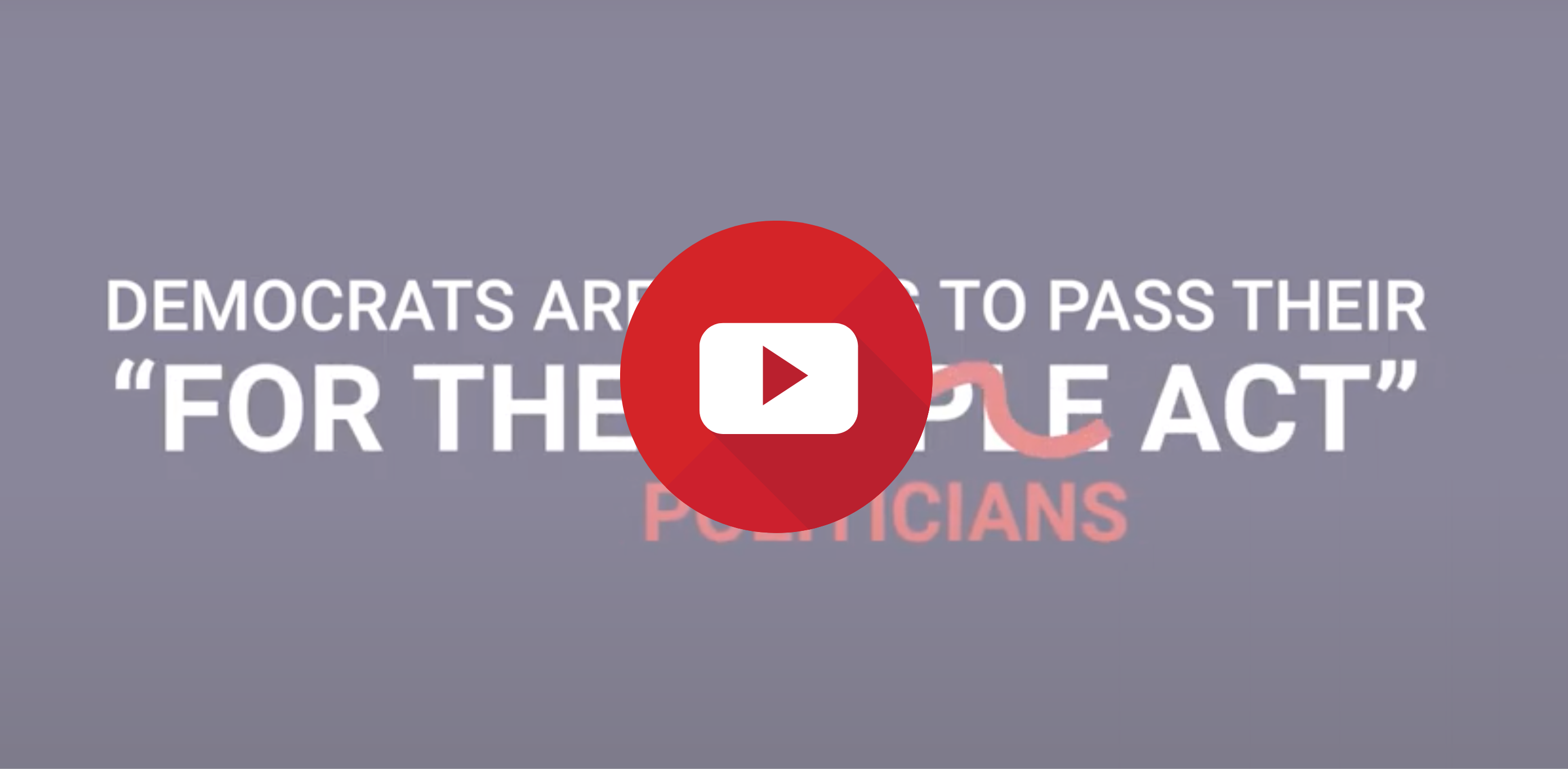 """Stand For America video analysis: For the """"Politicians"""" Act"""