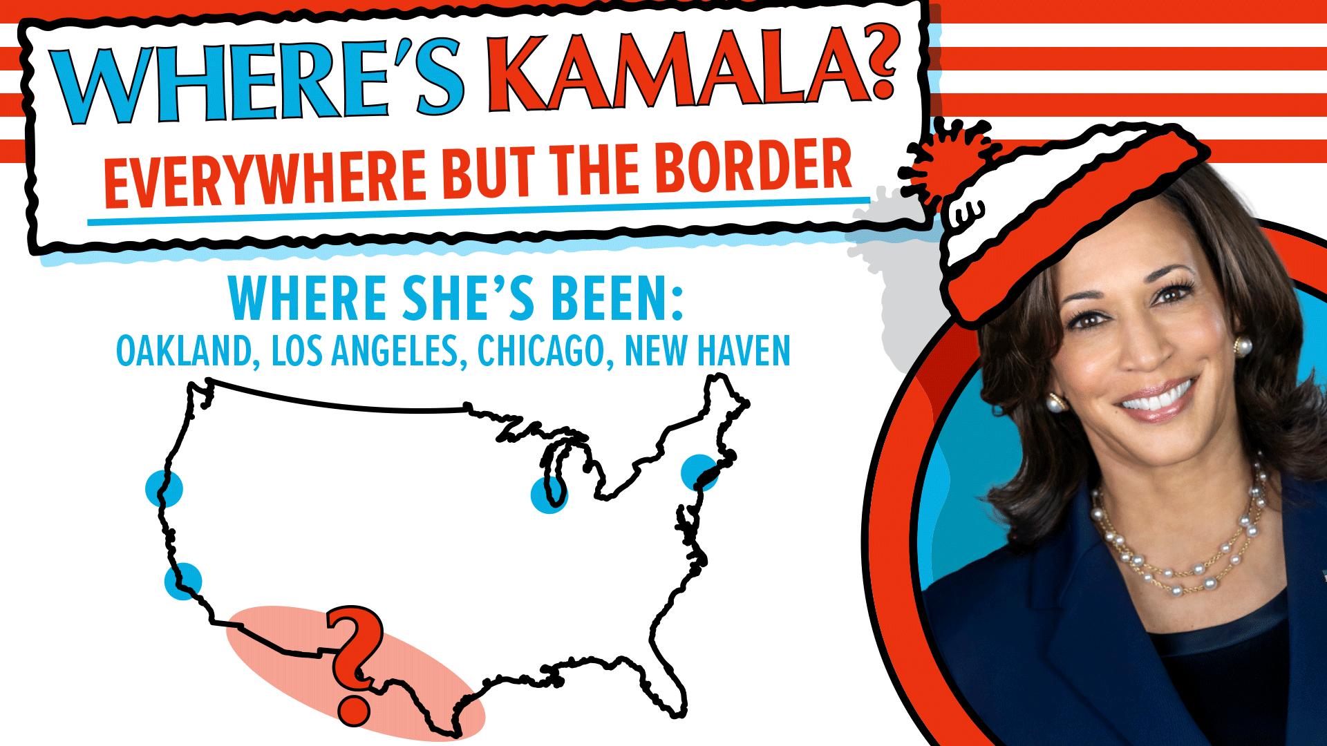Where's Kamala? 👀