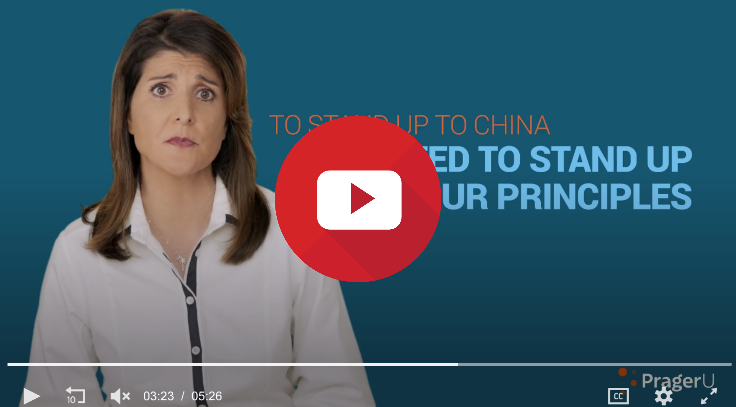 Amb. Haley China Is Our Foe 🇨🇳