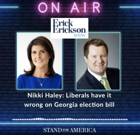 Nikki Haley Pushes Back On Liberals' Georgia Lies ✋