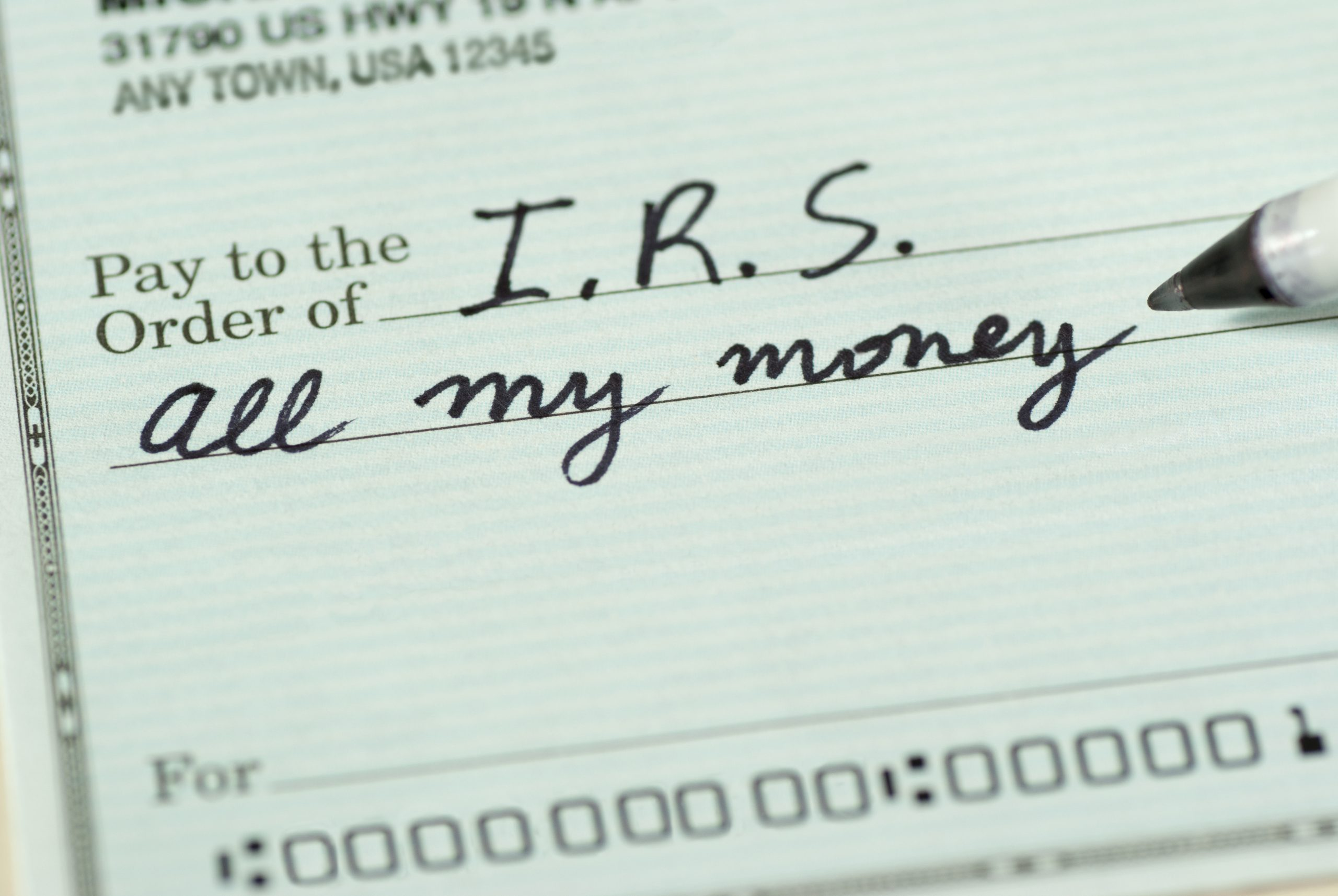 Hey Congress: DON'T Give the IRS More Power 🚫 💸
