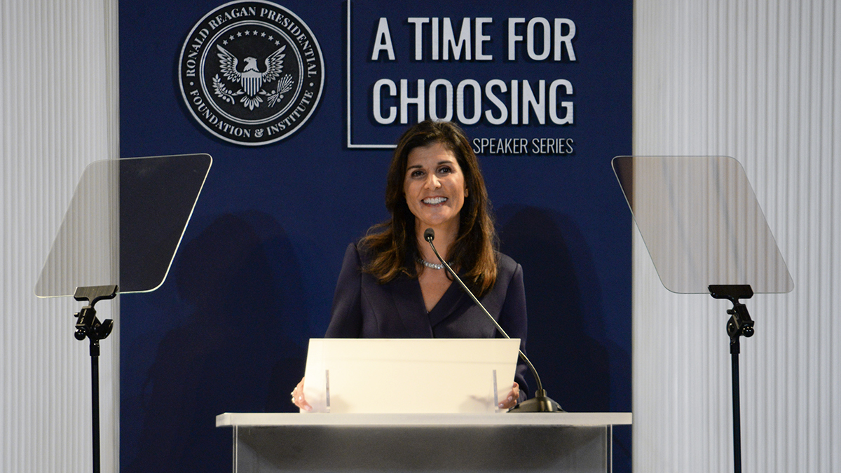 Nikki Haley: A Confident And Proud America 🇺🇸 🗽